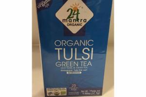 ORGANIC TULSI REFRESHING GREEN TEA