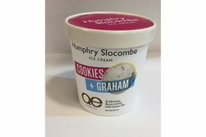 COOKIES + GRAHAM ICE CREAM