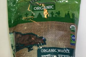 Organic Whole Red Kidney Beands