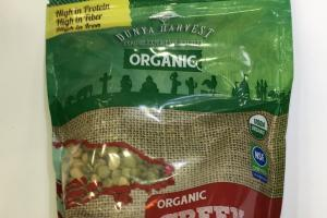 Organic Greek Split Peas