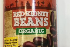 Organic Red Kidney Beans