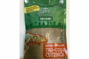 ORGANIC WHOLE GRAIN TRI-COLOR QUINOA