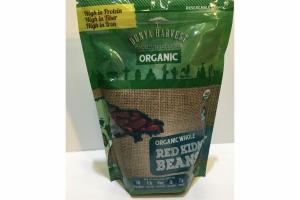 ORGANIC WHOLE RED KIDNEY BEANS