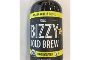 ORGANC VANILLA COFEE COLD BREW COFFEE