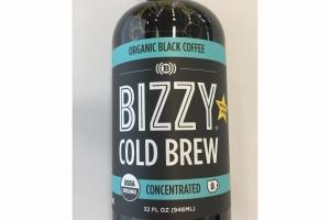 COLD BREW CONCENTRATED ORGANIC BLACK COFFEE