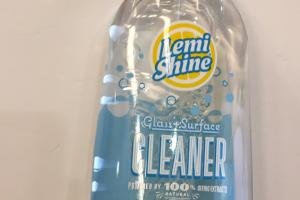 Glass + Surface Cleaner, Fresh Lemon Scent
