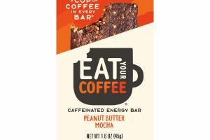 PEANUT BUTTER MOCHA CAFFEINATED ENERGY BAR