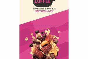 GLUTEN FREE FUDGY MOCHA LATTE CAFFEINATED ENERGY BAR