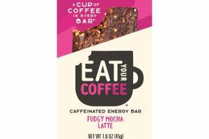 FUDGY MOCHA LATTE CAFFEINATED ENERGY BAR