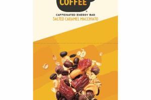 SALTED CARAMEL MACCHIATO CAFFEINATED ENERGY BAR