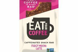 FUDGY MOCHA LATTE CAFFEINATED SNACK BAR