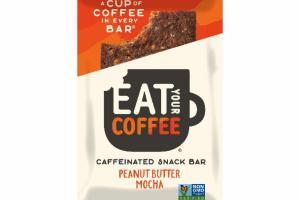 PEANUT BUTTER MOCHA CAFFEINATED SNACK BAR
