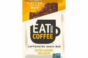SALTED CARAMEL MACCHIATO CAFFEINATED SNACK BAR