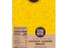 COCONUT ALMOND MEDLEY DARK CHOCOLATE CHUNKS