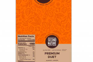 ALMONDS, CASHEWS PREMIUM DUET