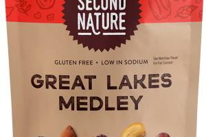 GREAT LAKES MEDLEY DRIED BLUEBERRIES, ALMONDS, DRIED CHERRIES, CASHEWS, DRIED CRANBERRIES