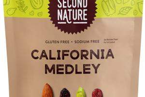 CALIFORNIA MEDLEY ALMONDS, RAISINS, PISTACHIOS, DRIED CRANBERRIES
