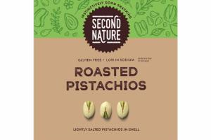 LIGHTLY SALTED ROASTED PISTACHIOS IN-SHELL