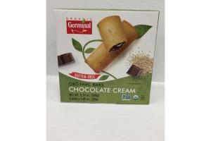 CHOCOLATE CREAM ORGANIC BARS