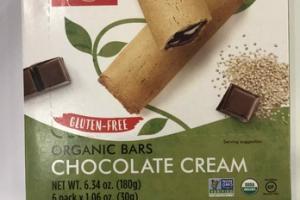 ORGANIC CHOCOLATE CREAM BARS