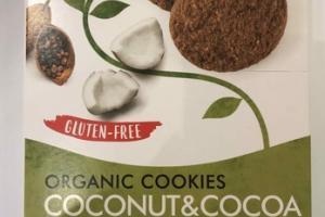 COCONUT&COCOA ORGANIC COOKIES