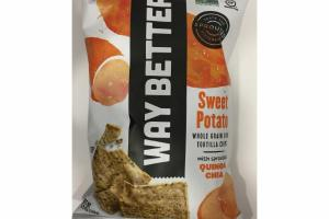 SWEET POTATO WHOLE GRAIN CORN TORTILLA CHIPS