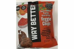 SWEET SMOKED PAPRIKA BEAN & RICE VEGGIE CHIPS
