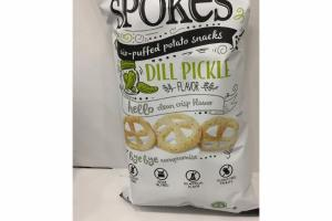 DILL PICKLE AIR-PUFFED POTATO SNACKS
