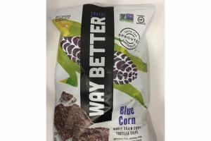 WHOLE GRAIN BLUE CORN TORTILLA CHIPS SNACKS