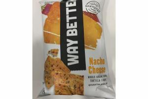 NACHO CHEESE WHOLE GRAIN CORN TORTILLA CHIPS
