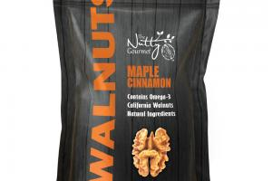 MAPLE CINNAMON WALNUTS