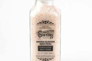 HIMALAYAN SALT SOAK ORANGE BLOSSOM ROSE PETAL