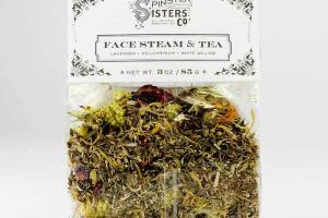 FACE STEAM & TEA, LAVENDER, HELICHRYSUM, WHITE WILLOW