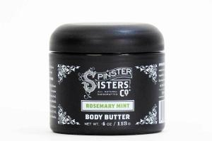 BODY BUTTER, ROSEMARY MINT
