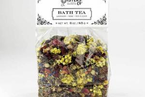 LAVENDER, ROSE, RED CLOVER BATH TEA