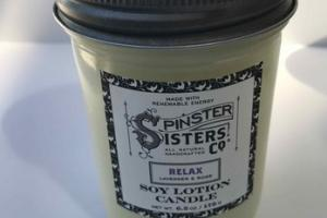 RELAX SOY LOTION CANDLE, LAVENDER & ROSE