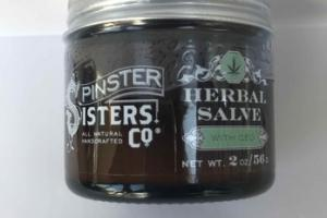 HERBAL SALVE WITH CBD