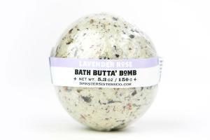 BATH BUTTA' BOMB LAVENDER ROSE