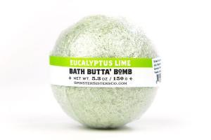 BATH BUTTA' BOMB, EUCALYPTUS LIME