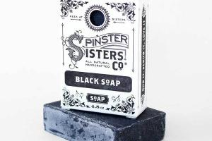 BLACK WITH ACTIVATED CHARCOAL SOAP