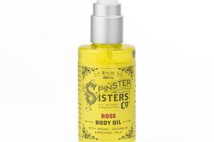 ROSE BODY OIL WITH ARGAN, JOJOBA & ESSENTIAL OILS