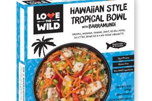 Hawaiian Style Tropical Bowl With Barramundi