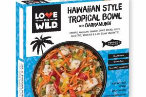 HAWAIIAN STYLE TROPICAL BOWL WITH BARRAMUNDI