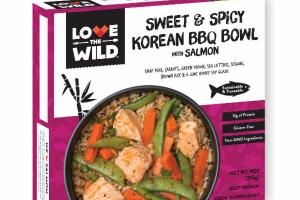 SWEET & SPICY KOREAN BBQ BOWL WITH SALMON