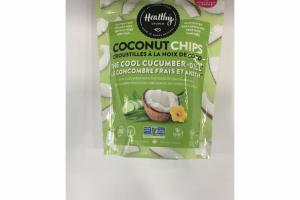 THE COOL CUCUMBER + DILL COCONUT CHIPS