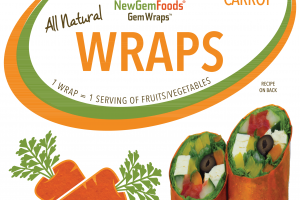 ALL NATURAL CARROT GEMWRAPS