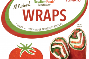 ALL NATURAL TOMATO GEMWRAPS