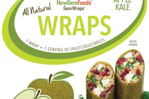 APPLE KALE WRAPS