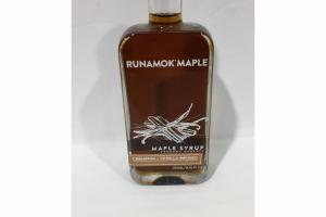 CINNAMON + VANILLA INFUSED MAPLE SYRUP VERMONT ORGANIC