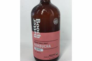 ROSE BLISS ORGANIC KOMBUCHA SPARKLING PROBIOTIC TEA